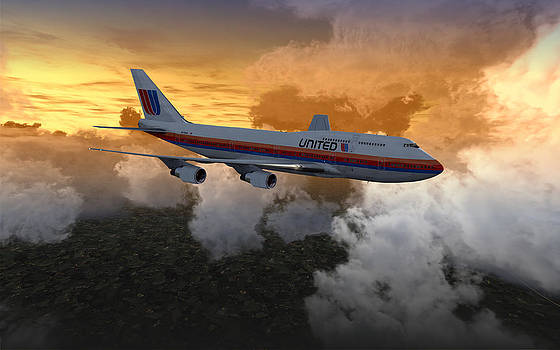 747 28.8x18 03 by Mike Ray