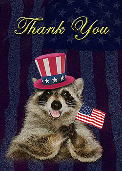 Jeanette K - Thank You Raccoon