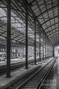 Train Station by Mats Silvan