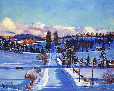David Lloyd Glover - 817 CANADIAN WINTER FARM