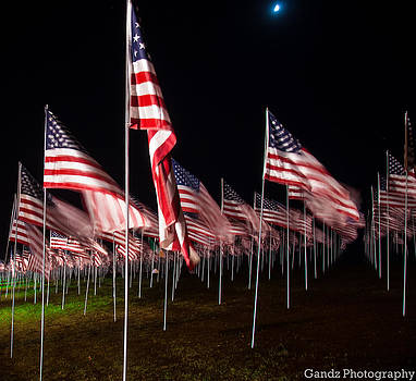 9-11 Flags by Gandz Photography