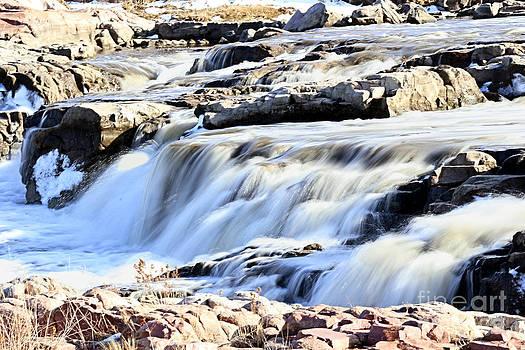 Falls park waterfall by Lori Tordsen