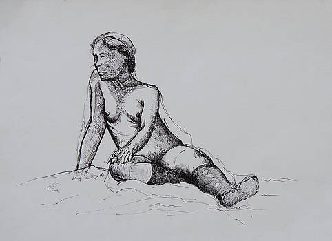 Figure Study by Rachel Christine Nowicki