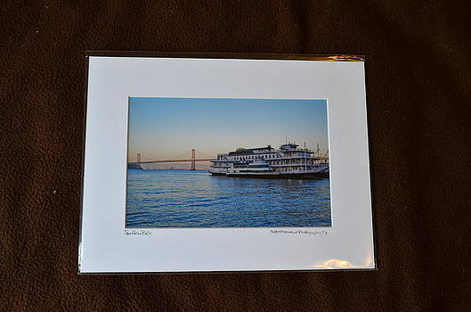9x12 Matted - San Fran Belle by Becky Anders