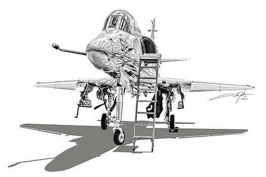 Dale Jackson - A-4 Skyhawk