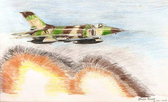 A-5 on a close-support missoin by Danish Anwer