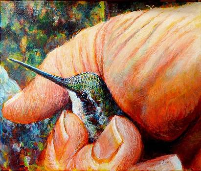 A Bird in the Hand by Michael Gaudet
