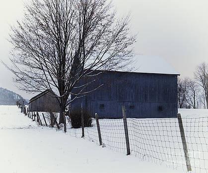 Thomas Schoeller - A Blue Barn - the Scenic Berkshires