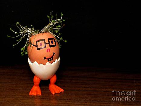 A Brave Eggman. Easter People Series by Ausra Huntington nee Paulauskaite