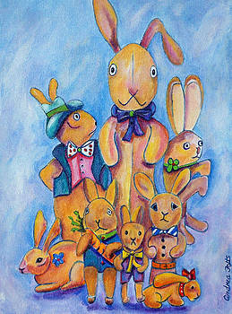 A Bunch of Bunnies by Andrea Folts