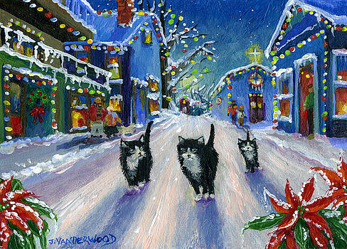 A Christmas Eve Walk by Jacquelin Vanderwood