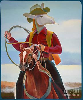 A Cowboy by Jukka Nopsanen