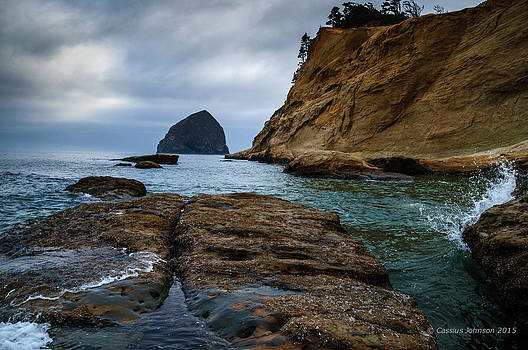 A Day at Cape Kiwanda by Cassius Johnson