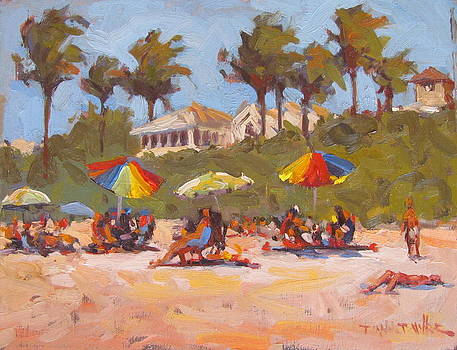 A Day at the Beach by Dianne Panarelli Miller