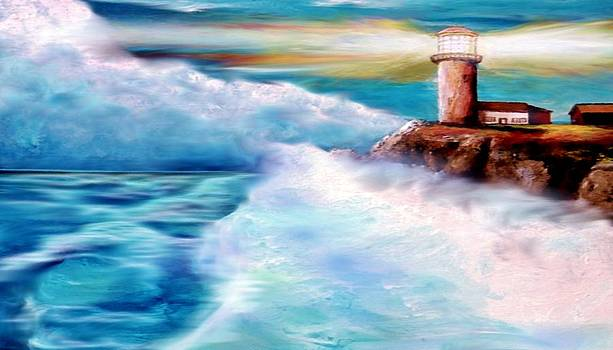 A Dinky-doo Lighthouse by Darryl Boone