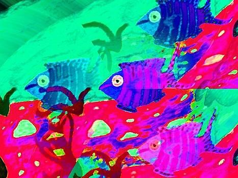A Fish In The Sea II - 3b by Hanna Khash