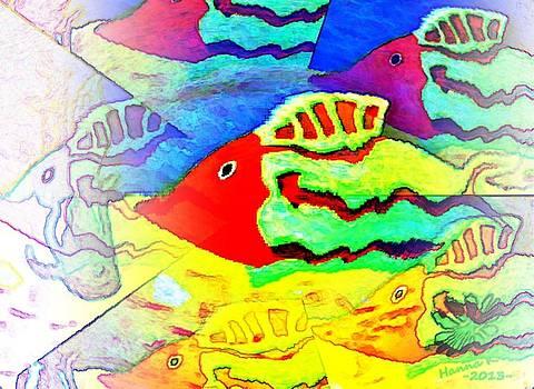 A Fish In The Sea III by Hanna Khash
