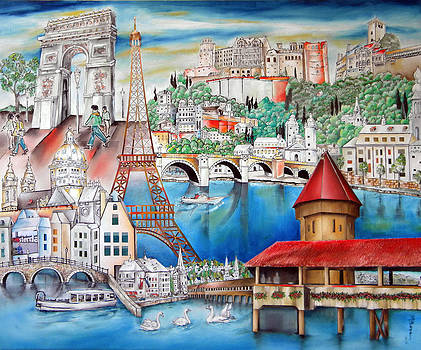 A Glimpse of Europe by Miriam Besa