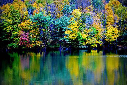 A Glorious Autumn by Jon Van Gilder