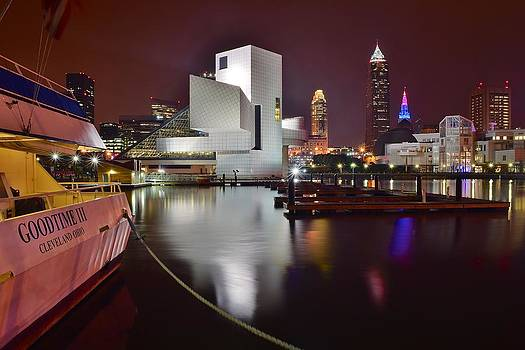 Frozen in Time Fine Art Photography - A Glorious Cleveland Night