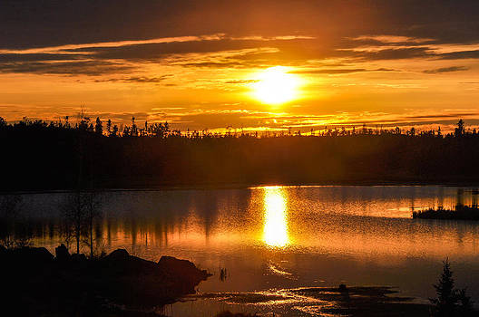 A Golden Pond by Valerie Pond