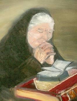 A Grandmother's Prayer by Helena Bebirian