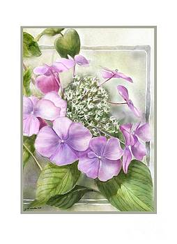 A Lacy Cap Notecard by Joan A Hamilton