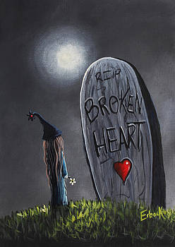 A Little Bit Broken Original Painting by Shawna Erback