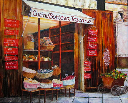 Diane Kraudelt - A Little Shop In Tuscany