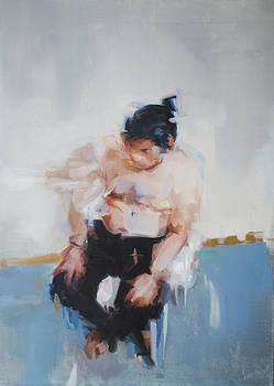 A Man On His Chair  by Omar Najjar
