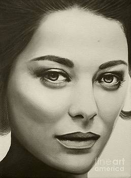 A Mark Of Beauty - Marion Cotillard by Malinda Prudhomme