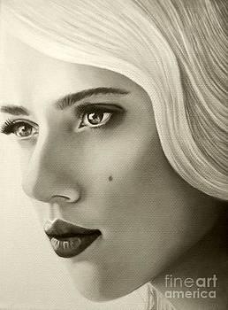 A Mark Of Beauty - Scarlett Johansson by Malinda Prudhomme