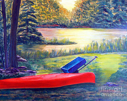 A Paddle Kinda' Day by June Haynes