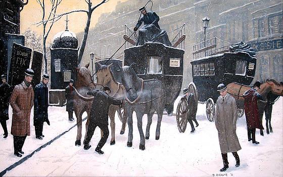 A Paris Morning by Dave Rheaume