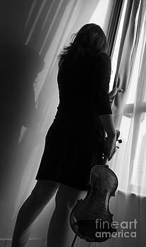 A passion of violin by Frederiko Ratu Kedang