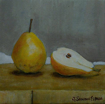 A pear and a half by Juan Sandin