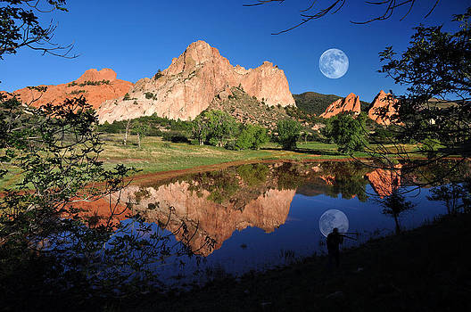 A Photographer's Dream at the Garden of the Gods by John Hoffman