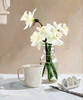 A Pint of Daffodils by Sandra Chase