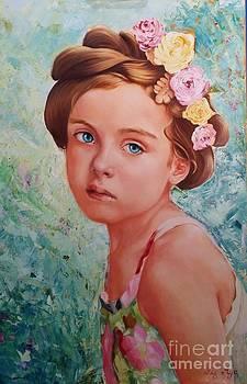 A Portrait of Milana by Liz Aya