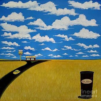 A Prairie Sky by John Lyes