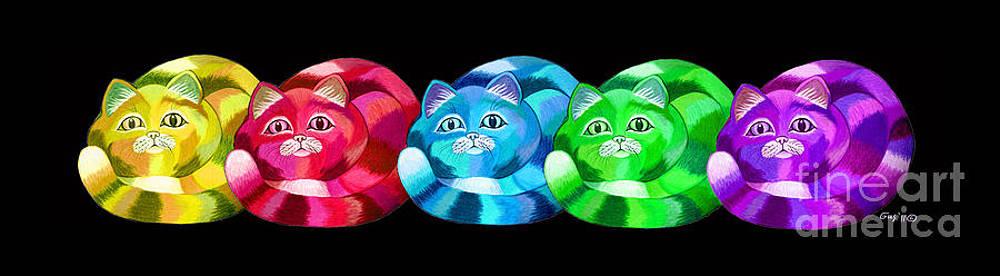 Nick Gustafson - A Rainbow Cats 2