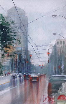 A Rainy Day in Dayton by Gregory DeGroat