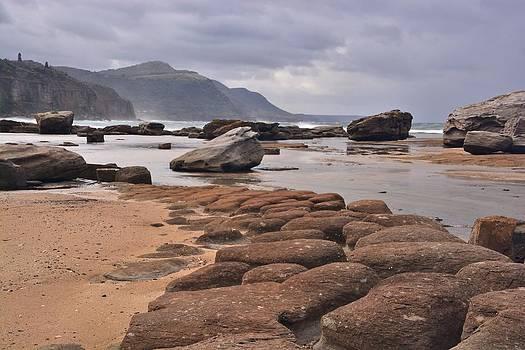 A Rock Strewn Shoreline by Terry Everson