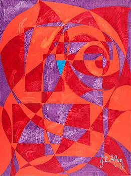 Tango in Red by Joseph Edward Allen