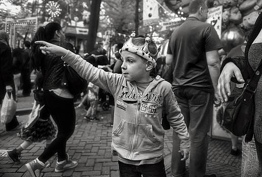 A Royal Gesture by Michel Verhoef