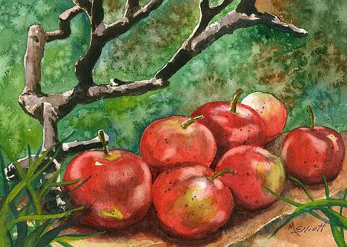 A Sign of Autumn by Marsha Elliott