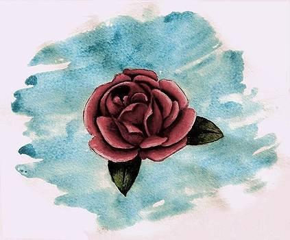 A Single Rose by Ally Mueller