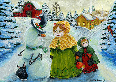 A Snowman's First Winter Greeting by Jacquelin Vanderwood