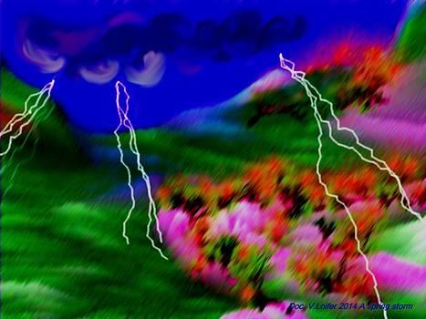 A spring storm by Dr Loifer Vladimir
