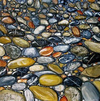 A stroll along the beach by Heather Matthews